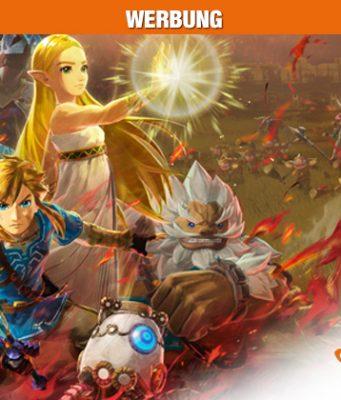 Jetzt bei Saturn: Switch-Hit Hyrule Warriors: Zeit der Verheerung (Abbildungen: Nintendo / Saturn)