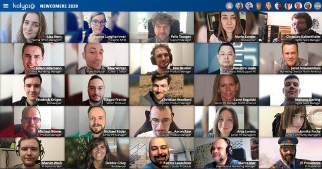 Einige der vielen neuen Mitarbeiter der Kalypso Media GmbH