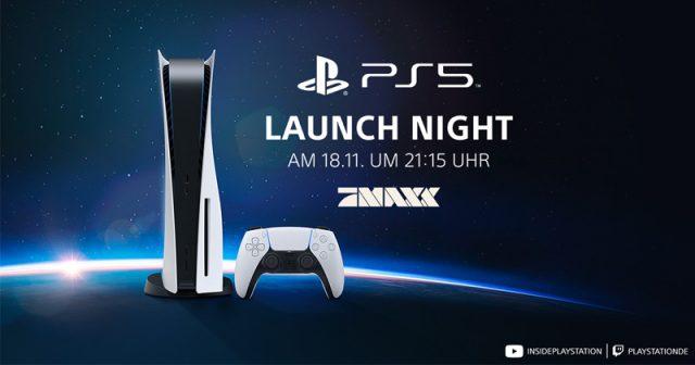 PS5 Launch Night am 18.11.2020 (Abbildung: Sony Interactive)