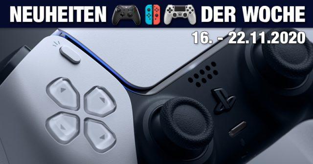 Neu in der Kalenderwoche 47/2020: die PlayStation 5 (Abbildung: Sony Interactive)