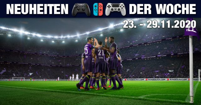 Neu ab 23. November 2020: Football Manager 21 (Abbildung: SEGA)