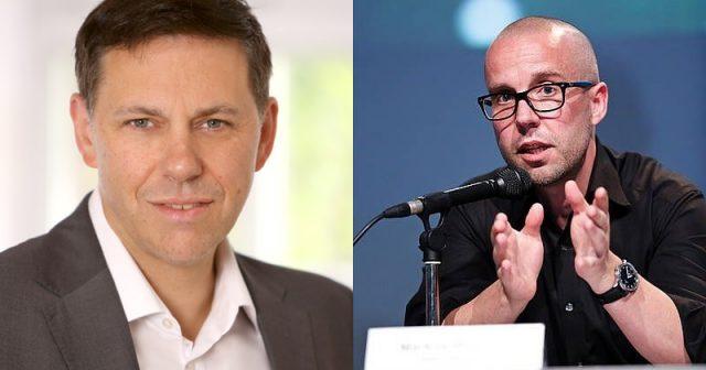 Neu im Team von Wegesrand-Chef Thorsten Unger (links): Game-Design-Professor Markus Wiemker (Fotos: Wegesrand)