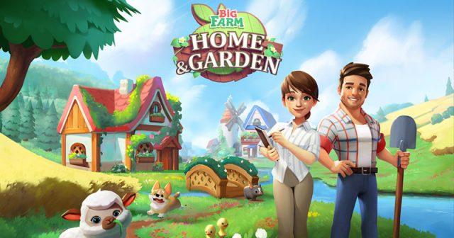 Big Farm: Home & Garden erscheint für iOS und Android (Abbildung: Goodgame Studios)