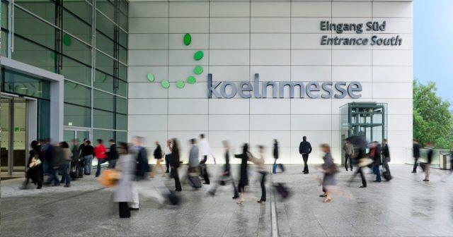 Das Kölner Impfzentrum entsteht bis Mitte Dezember auf dem Messegelände (Foto: KoelnMesse / Andreas Kunert)