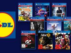 Nur am 23.12.2020 verkauft Lidl diese PS4-Hits in den Filialen (Abbildungen: Lidl)