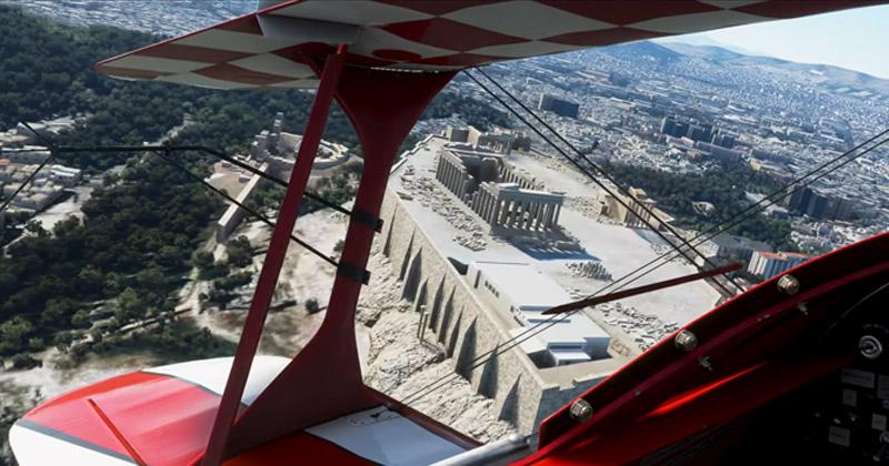Erscheint im Sommer 2021: Microsoft Flight Simulator für Xbox Series X (Abbildung: Microsoft)
