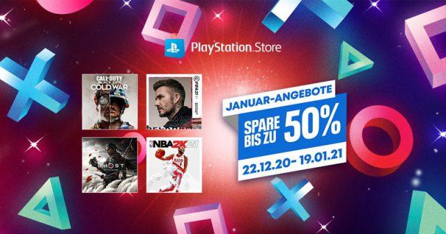 Die Januar-Angebote im PlayStation Store gelten bis 19. Januar 2021 (Abbildung: Sony Interactive)