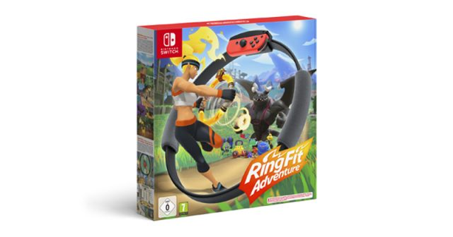 Wo kann man Ring Fit Adventure kaufen? (Abbildung: Nintendo of Europe)