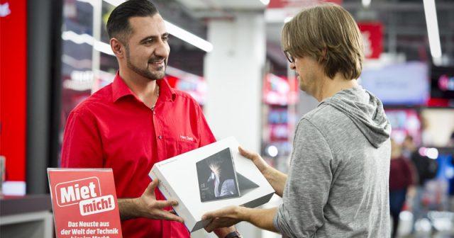 Händler wie MediaMarkt gewährten vor Weihnachten 2020 ein verlängertes Umtauschrecht (Foto: MediaMarktSaturn)