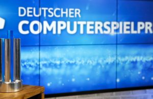 Wird am 13. April verliehen: Deutscher Computerspielpreis 2021 (Foto: Franziska Krug / Getty Images for Quinke Networks)