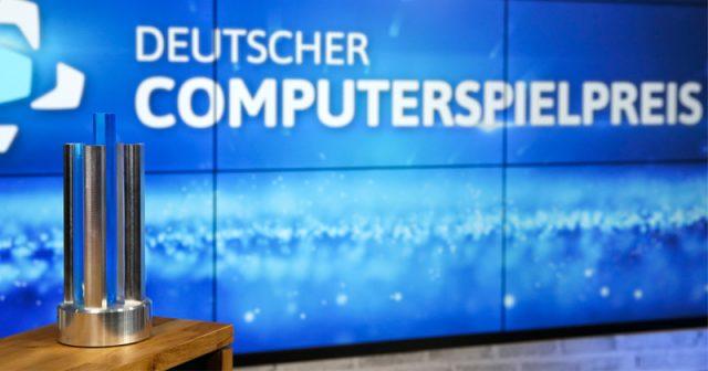 Wird am 13. April verliehen: Deutscher Computerspielpreis 2021 (Foto: Franziska Krug / Getty Images for Quinke Networks)