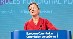EU-Wettbewerbs-Kommissarin Margrethe Vestager (Foto: CCE / Aurore Martignoni)