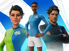 Das Fortnite Anpfiff-Set enthält unter anderem Trikots von Manchester City und Juventus Turin (Abbildung: Epic Games)