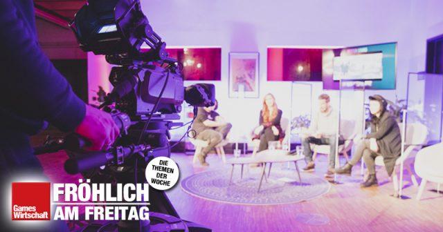 Erstmals gab es beim Deutschen Entwicklerpreis 2020 einen amtlichen Livestream (Foto: Aruba Events)