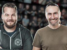 Neu bei HandyGames: Producer Josef Vorbeck und PR-Manager Bernhard Richter (Fotos: HandyGames)