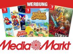 MediaMarkt-Aktion: 3 Nintendo Switch-Spiele kaufen - 2 bezahlen (Abbildungen: Nintendo, MediaMarktSaturn)