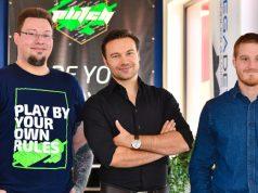 Das MegaDev-Führungstrio: Christian C. Jänicke (CTO), Robert Maroschik (CEO) und Markus Schaal (COO) - Foto: MegaDev GmbH