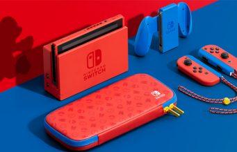 Der Lieferumfang der Nintendo Switch Mario-Edition (Abbildung: Nintendo)