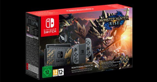Erscheint am 26.3.2021: Nintendo Switch Monster Hunter Rise Edition (Abbildung: Nintendo)