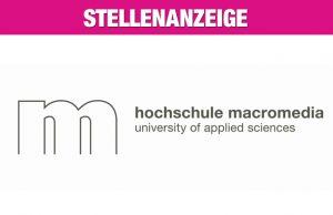 Hochschule Macromedia Köln (Stellenanzeige)