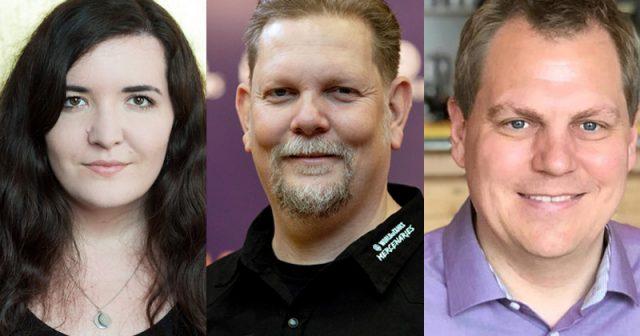Die Top-10-Personalmeldungen 2020 bei GamesWirtschaft: Rae Grimm, Ingo Horn und Jens Begemann