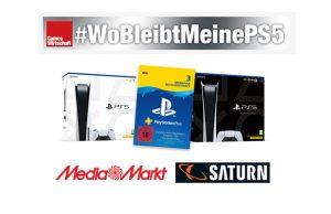 Auch nach vier Monaten warten immer noch Tausende MediaMarkt- und Saturn-Kunden auf ihre vorbestellte PlayStation 5 (Abbildungen: MediaMarktSaturn, Sony)
