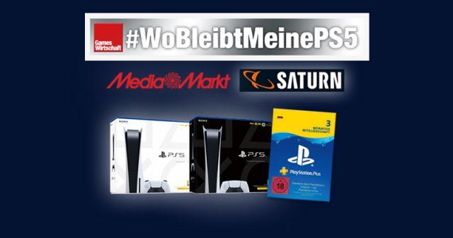 Endspurt im PS5-Vorbesteller-Nervenkrieg: Die Lage bei MediaMarkt und Saturn in der Kalenderwoche 4 (Abbildungen: Sony, MediaMarktSaturn)