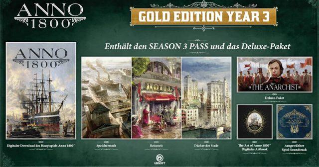 ANNO 1800 geht mit dem Season Pass 3 in die Verlängerung (Abbildung: Ubisoft)
