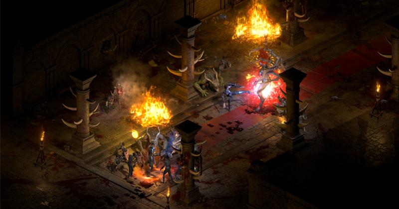Szene aus Diablo 2: Resurrected (Abbildung: Blizzard Entertainment)