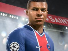 Darf auch in FIFA 22 in der Champions League auflaufen: PSG-Superstar Kylian Mbappé (Abbildung: EA Sports)