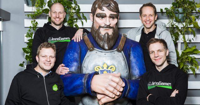 Das InnoGames-Management 2021 (von links): Michael Zillmer, Christian Pern, Hendrik Klindworth und Eike Klindworth (Foto: InnoGames)