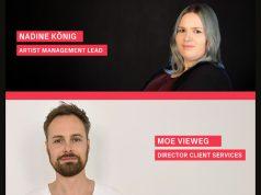 Bekommen mehr Verantwortung bei Instinct3: Nadine König und Moe Vieweg (Abbildung: Instinct3)