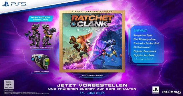 Erscheint am 11. Juni 2021: PS5-Neuheit Ratchet & Clank: Rift Apart (Abbildung: Sony Interactive)