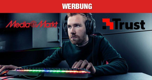 Robustes Gaming-Zubehör zum Top-Preis: Jetzt TRUST-Produkte bei MediaMarkt entdecken! (Abbildung: TRUST)