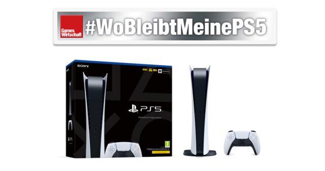 WoBleibtMeinePS5: Nach wie vor warten Kunden auf vorbestellte PlayStation 5 - hier die Digital Edition (Abbildung: Sony Interactive)