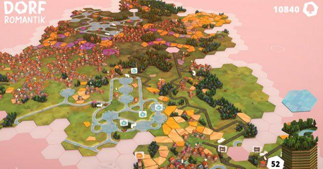 In drei Kategorien beim DCP 2021 nominiert: Dorfromantik von Toukana Interactive