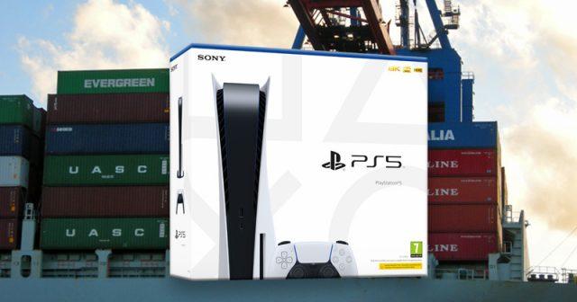 Ebenso wie die meisten anderen Waren aus Fernost gelangt auch die PlayStation 5 in Seefracht-Containern nach Europa (Fotos: GamesWirtschaft / Sony Interactive)