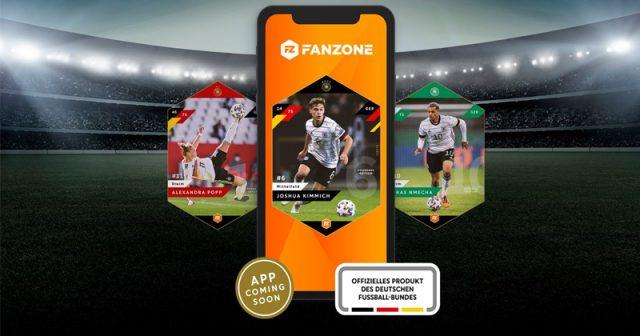 Das Sammelkartensystem Fanzone ist ab sofort mit DFB-Lizenz ausgestattet (Abbildung: Fanzone Media)