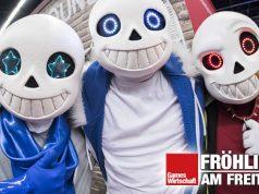 Die Masken dieser Gamescom-2019-Besucher genügen mutmaßlich nicht den Sicherheits-Vorgaben der Gamescom 2021 (Foto: KoelnMesse / Oliver Wachenfeld)