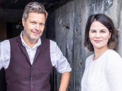 Die Bundesvorsitzenden von Bündnis 90 / Die Grünen: Robert Habeck und Annalena Baerbock (Foto: Dominik Butzmann)
