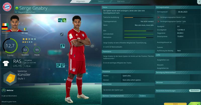 In der 'Bundesliga-Edition' sind die Klubs und Spieler der deutschen Profiligen inklusive (Abbildung: THQ Nordic)