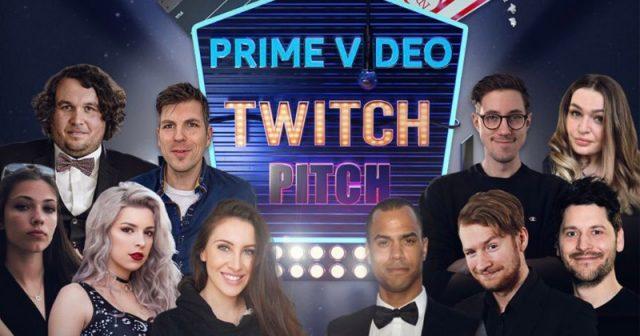 HandOfBlood, Gnu, Simon Krätschmer und David Hain gehören zum Ensemble von Prime Video Twitch Pitch (Abbildung: Amazon)