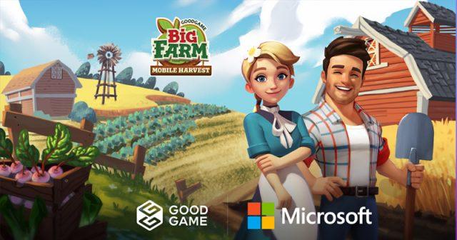 Ab sofort auch im Windows Store: Big Farm: Mobile Harvest (Abbildung: Goodgame Studios)