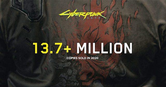 Im Dezember 2020 wurden 13,7 Millionen Stück von Cyberpunk 2077 abgesetzt (Abbildung: CD Projekt)