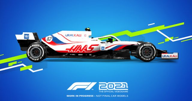 Mick Schumachers Arbeitsplatz: F1 2021 erscheint am 16. Juli 2021 (Abbildung: Codemasters / EA)