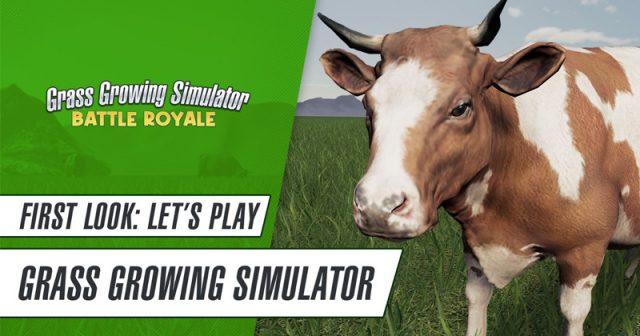 Nur für PC erhältlich: der Grass Growing Simulator von Giants Software