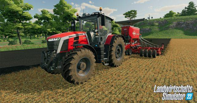 Der Landwirtschafts-Simulator 22 erscheint im 4. Quartal 2021 (Abbildung: Giants Software)