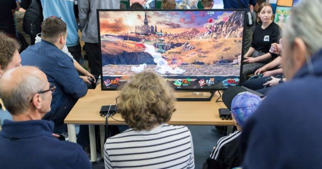 Die Lange Nacht der Computerspiele ist eine Institution in Leipzig (Foto: Lars Grimmer)