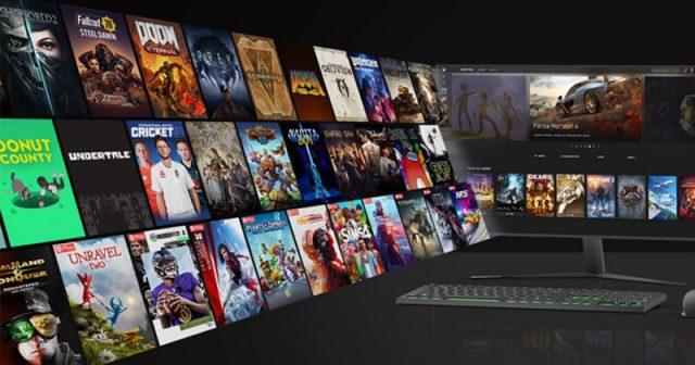 Der Microsoft Store konkurriert mit Steam, Epic Games Store und GOG.com (Abbildung: Microsoft)