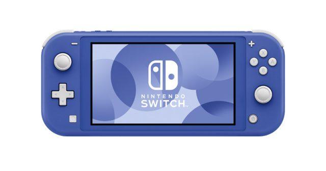 Die Nintendo Switch Lite in Blau erscheint am 7. Mai 2021 (Abbildung: Nintendo of Europe)